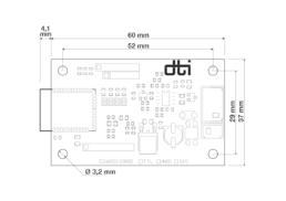DConnect BLE dimensions