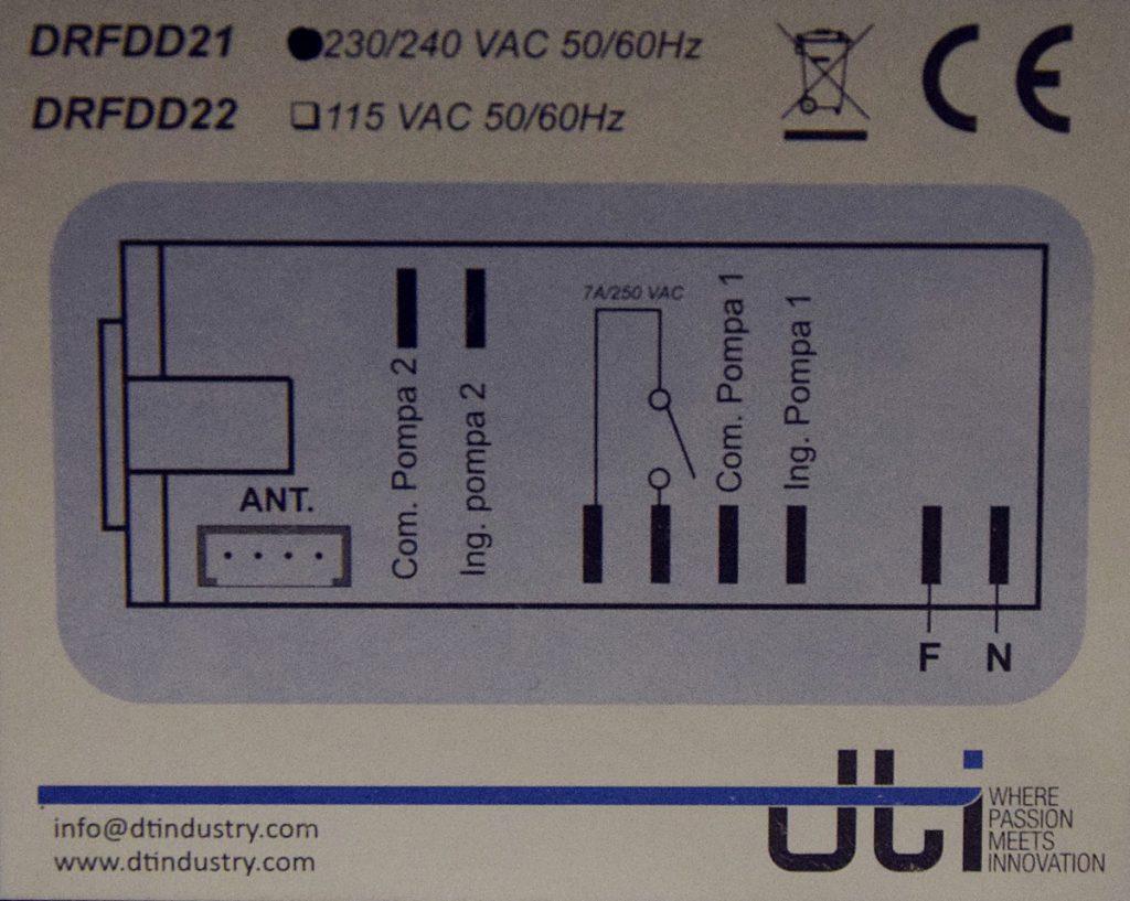 DRFDD2-Etichetta